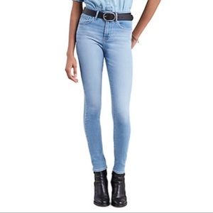 NWT Levi's 721 High Rise Skinny Trouble Maker Jean